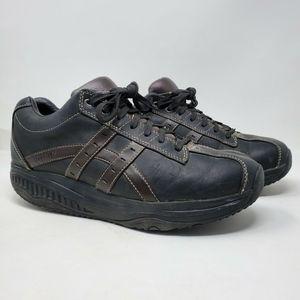 Skechers Mens Shape Ups 66504 Black Shoes